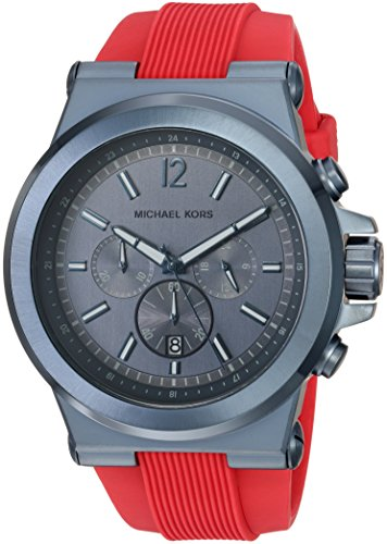 Michael Kors Men's Dylan Red Watch MK8558