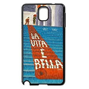 Kisss Series, Samsung Galaxy Note 3 Cases, Life is Beautiful Cases for Samsung Galaxy Note 3 [Black]