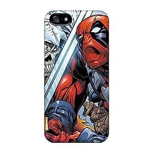JonBradica Iphone 5/5s Shock Absorption Hard Phone Case Unique Design Nice Deadpool I4 Series [gXe1164xdzZ]