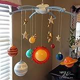 Solar System Children's Mobile - Solar System Baby Mobile - Planets Mobile - Earth Mobile - Outer Space Mobile - Handmade Custom Mobile