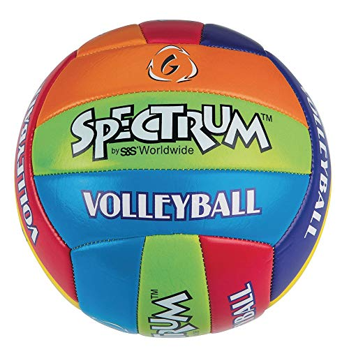S&S Worldwide Spectrum Multicolored Volleyball