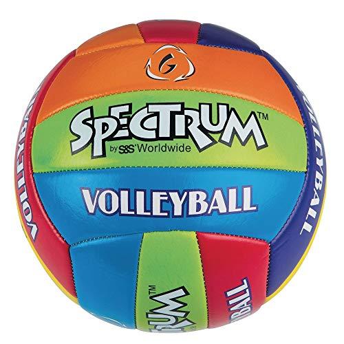 S&S Worldwide Spectrum Multicolored Volleyball