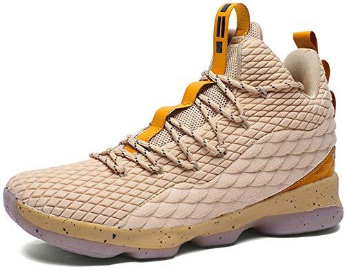 453dd9e6077 JiYe Men s Fashion Basketball Shoes Women s Breathable Flyknit Sneakers