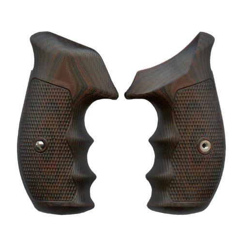 VZ Grips N-Frame Tactical Diamond Gun Grip, Black Cherry - Frame Pistol