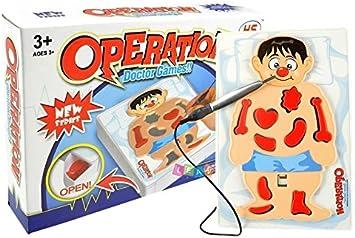 Juego de Mesa Operación Juego Riflejo de Cirujano: Amazon.es: Juguetes y juegos