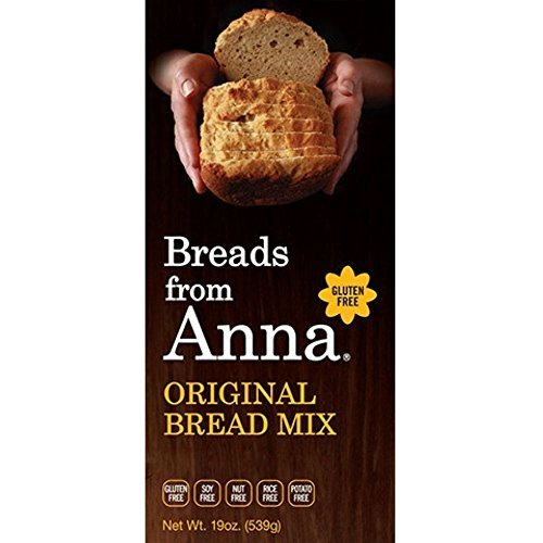 Breads from Anna Original Bread Mix, 19 Ounce -- 6 per case. by Breads From Anna