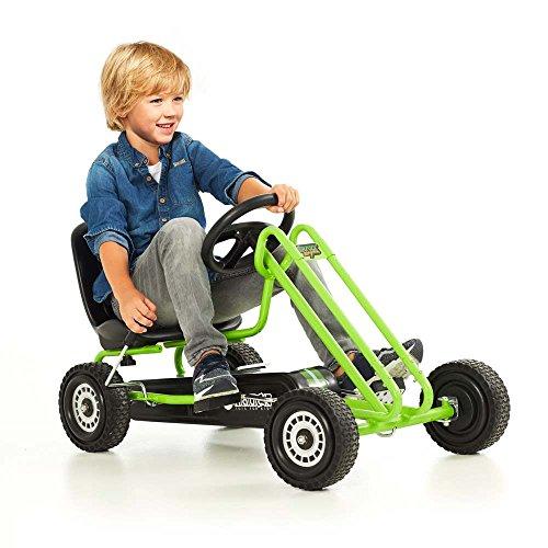 51l1DwiwoUL - Hauck Lightning Pedal Go-Kart - Race Green
