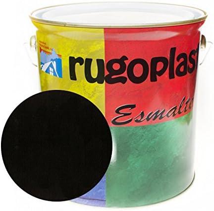 Esmalte sintético de alta calidad ideal para pintar hierros, rejas, portones, puertas, ventanas, madera... Brillante / Satinado / Mate / Forja / Aluminio Plata / Metalizado Varios Colores (0,375Ml, Ne