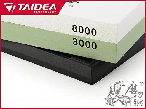 Whetstone, Kinps 3000/8000 Grit Combination Corundum Double Knife Two-sided Sharpening Stone