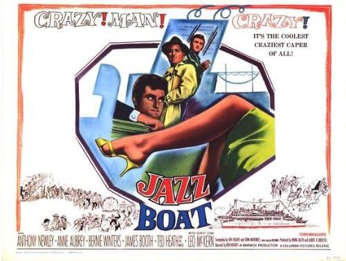 Jazz Boat (1960) 22 x 28 Movie Poster - Half Sheet Style A: Amazon ...