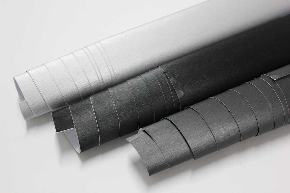 SKYMEX VINYL UK Brushed Aluminium Vinyl wrap various Colours (30cm x152cm) (BLACK) SKYMEX UK
