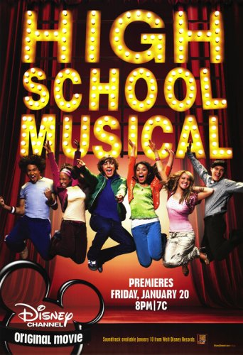 Pop Culture Graphics High School Musical Movie Poster 11 x 17 Movie Poster