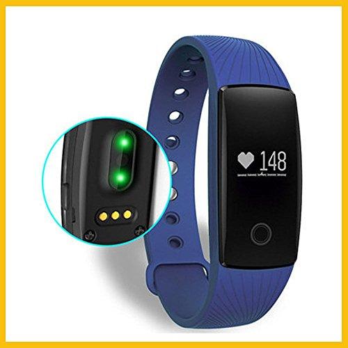 Fitness-Tracker Activity Tracker Sport-Armband mit Schrittzähler,Herzfrequenz-Monitor, Schlafanalyse,Bluetooth 4.0 für iOS und Android