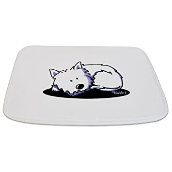 Amazon.com: CafePress – Pan Tiempo Westie – Alfombrilla de ...
