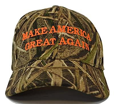 Make America Great Again Donald Trump Hat - Mossy Oak Shadow Grass Camo