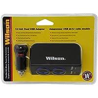 Wilson 3052224USBBL 12V 2.4 Amp Dual USB Adapter