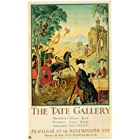 London Underground - The Tate Gallery 1928 - LU060A Superior Canvas A3 Size