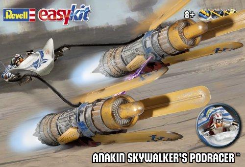 ドイツレベル スターウォーズイージーキットシリーズ アナキン ポッドレーサー プラモデル
