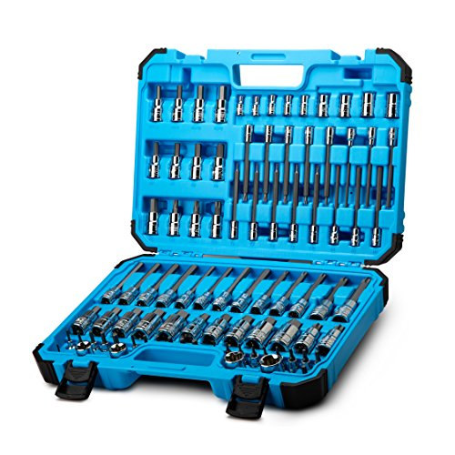 Capri Tools Master Bit Socket Set, Advanced Series, 88-Piece ()