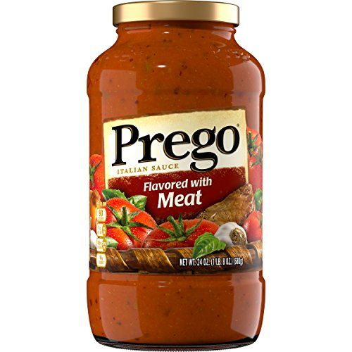 (Prego Italian Sauce Flavored with Meat, 24 oz)