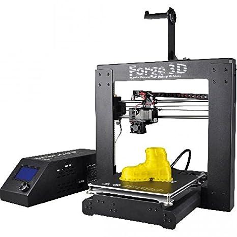 Forge 3D Impresora versión EU + 10 m ABS/PLA Filamento + ...