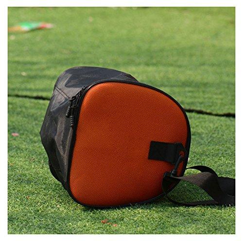 , Turnbeutel Sports Holdall Fußball Tasche Basketball Bag Umhängetaschen für unisex-orange