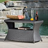 GDF Studio Banta Outdoor Wicker Side Table (Grey) Review