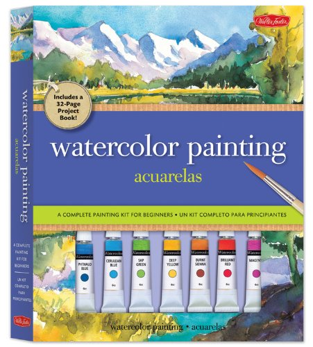 Watercolor Painting Kit: A complete painting kit for beginners by Walter Foster Publishing