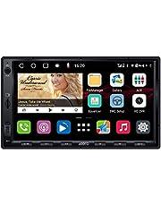 ATOTO S8 Standardowy S8G2A74SD 7 cal Android Sprzęt wideo do montażu w desce rozdzielczej,Tethering przez USB, 2 Bluetooth,HD z LRV, Android Auto & Bezprzewodowy CarPlay ,Wyświetlacz IPS,SCVC i więcej