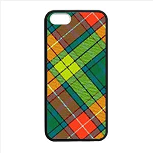 Best Custom Design Case,Colorful Scottish Tartan Plaid Pattern Apple iphone 5 or 5s TPU (Laser Technology) Case, Cell Phone Cover by supermalls