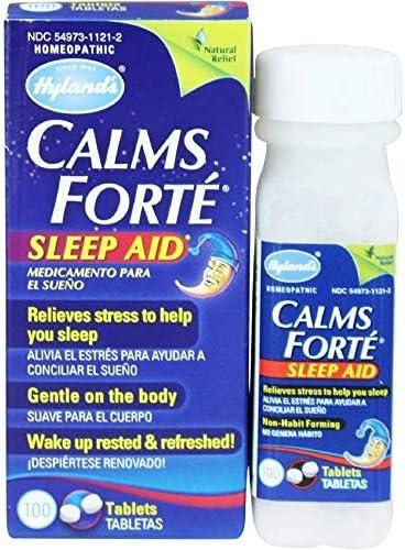 Hylands Calms Forte tablets pack