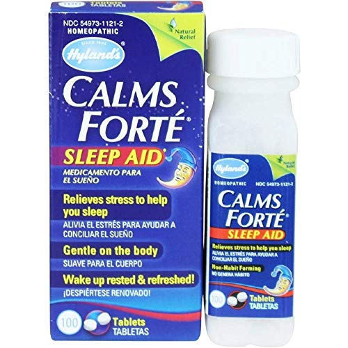 Hyland's - Calms Forte, 100 tablets,pack of 6