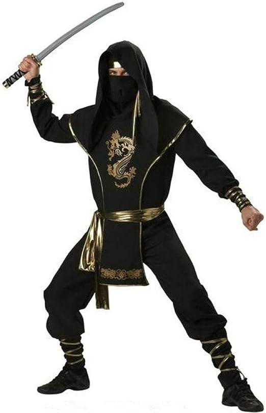 DEXIAOBANG Disfraz De Halloween Cosplay Ninja Samurai Uniforme ...