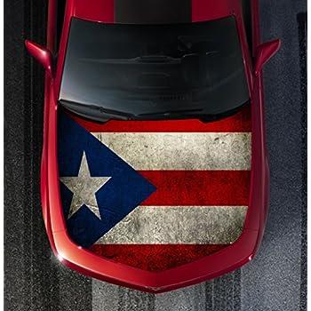 Amazon.com: Puerto Rico Flag Domed Decal Emblem Resin car ...
