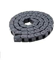 UEETEK Cadena de arrastre para impresoras 3D, portador de cable de plástico semicerrado, 7 x 7 mm