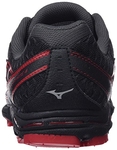 Mizuno Men's Wave Hayate 4 Running Shoes Multicolour (Black/Silver/Formulaone 03) dDjm288