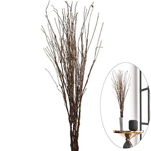 MISSWARM 10 pcs Artificial Green Twig Curly Willow Branch Spray 29.5