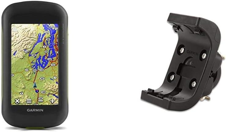Garmin Montana Outdoor Navigationsgerät Mit Hochauflösendem 4 Touchscreen Display Und Ant Konnektivität Fahrradhalterung Mit Montagesatz Vorgeformter Unterlage Aus Gummi Zur Stabilitätserhöhung Navigation