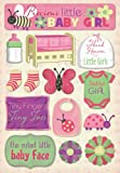 Karen Foster Design Acid and Lignin Free Scrapbooking Sticker Sheet, Daddy's Girl