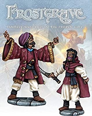 Frostgrave Summoner & Apprentice by Warlord Games