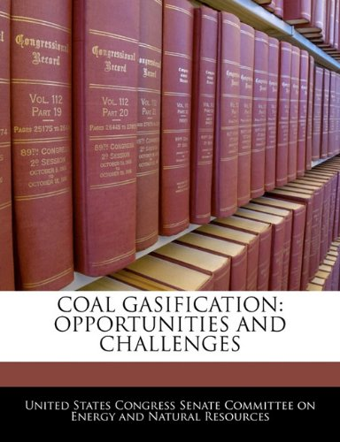 Coal Gasification: Opportunities And Challenges