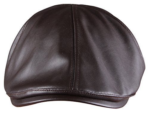 ORSKY Brown Newsboy Hat Adult Flat Cap Classic Irish Cap Ivy Driving Cap Brown (Brown Driving Cap)