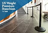 US Weight Heavy Duty Premium Steel Stanchion with