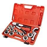 hvac tubing expander - XtremepowerUS Lever Tubing Expander Tool Swaging Kit Hvac Tools Tube, Piping & Pipe