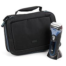 EVA Shaver Case (in Blue) for Braun Epilierer Silk-épil 9 9-527|Epilierer Silk-épil 9 SkinSpa 9-961e|MGK3040|MGK3080|Series 5 - 5070cc|Series 7 7898cc|Series 7|Series 9|Silk-épil 3 - by DURAGADGET