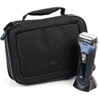 EVA Shaver Case (in Blue) for Gillette Fusion ProGlide Rasierer Starter-Set|SHAVE-LAB - ZERO|Wilkinson Sword Hydro 3 Starterset - by DURAGADGET