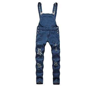 Fansu Peto Jeans Monos Hombres, Denim Jeans Bib Overoles ...