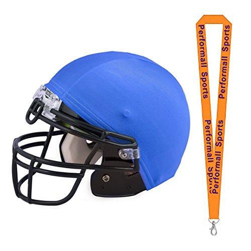 Champion Sports Helmet Cover Royal Blue (Set of 12) Bundle