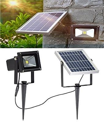 Super Bright LED Solar Flood Lights Outdoor, No Sensor