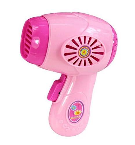 Juguetón Electrodomésticos Modelos Juguetes de juguete de simulación para niños (secador de pelo)